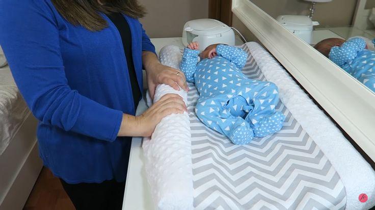Changing Pad - Trocador com curvatura para bebês - Diaper Genie Diaper Changing Smart Cushion - Flávia Calina: 5 DICAS PARA TROCAR FRALDA -  https://www.youtube.com/watch?v=3zR4oYtg_Oc