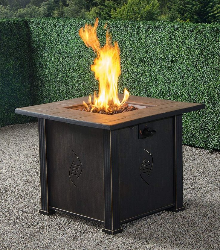Top 10 Best Propane Fire Pits in 2020 Gas fire pit table