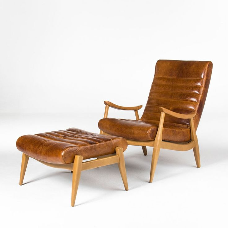 Stylish The 15 Best Online Furniture Stores: HANS CARAMEL LEATHER CHAIR