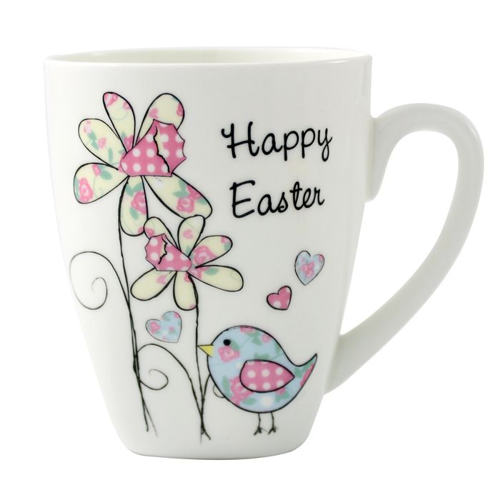 29 best easter gift ideas not just chocolate images on pinterest easter gift ideas personalised daffodil floral chick latte mug easter gift 899 negle Choice Image