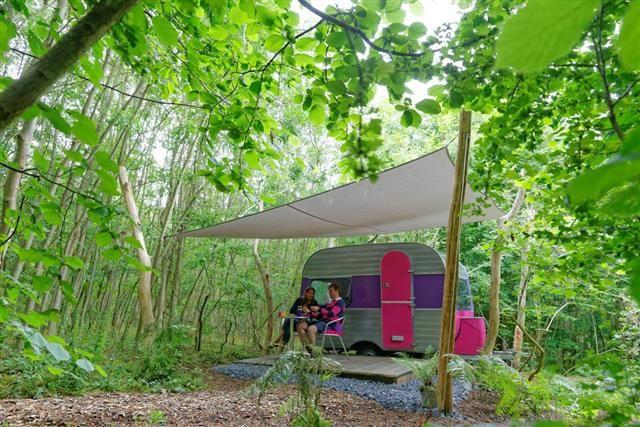 les 105 meilleures images propos de caravanes sur pinterest. Black Bedroom Furniture Sets. Home Design Ideas