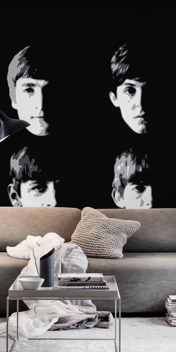 The Beatles Wall mural Beatles wallpaper