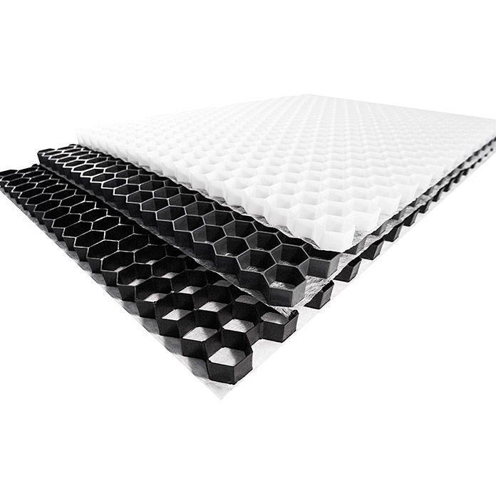 Stabilisierungsmatte Kiesfix 120 X 80 Cm Polyethylen Baustoffe Gabionen Bauhaus
