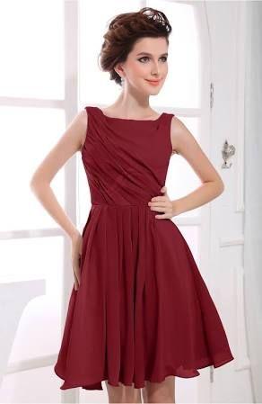17 Best ideas about Dark Red Bridesmaid Dresses on Pinterest ...