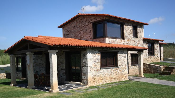 Casa de campo casa r stica cassinelli decoraci n for Construcciones rusticas