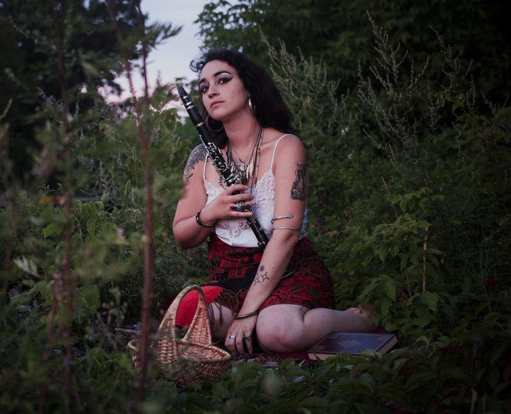 ''Gipsy Woman by the Train Tracks''  MODEL Liana The Ghost Photography   lianatheghost.com