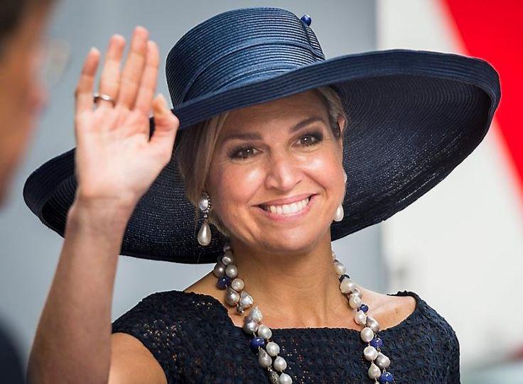 Queen Máxima, May 20, 2016 in Fabienne Delvigne | Royal Hats