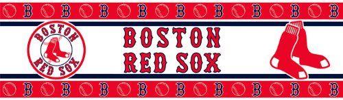Mlb boston red sox wall border sports coverage http www - Boston bruins wallpaper border ...