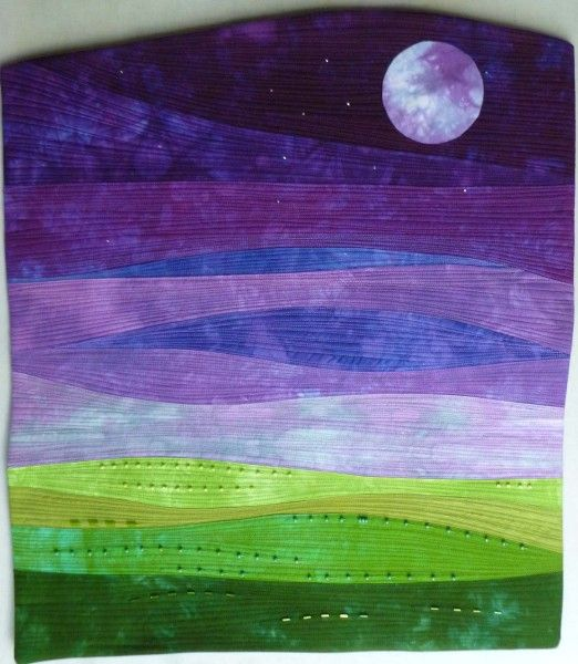 This is a quilt, but I'd like to use it as inspiration for a fused glass piece.