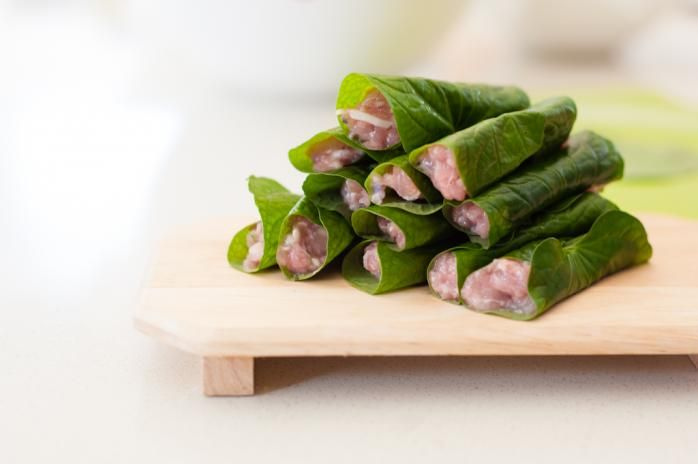 Pan-fried Chicken Betel Leaves Wraps | Rice kitchen