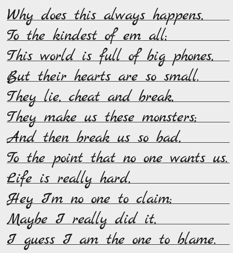 Love Hate Poems 7