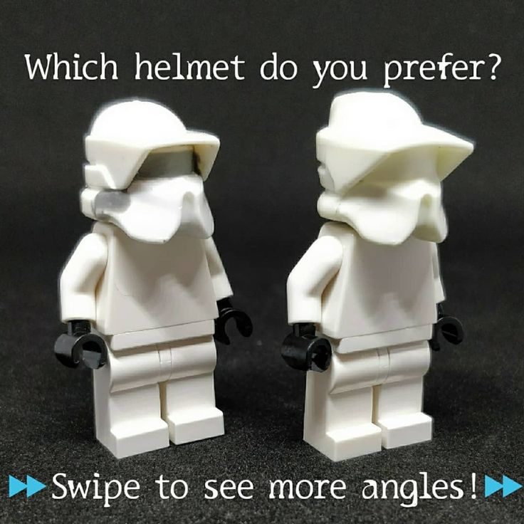 Arite guys so I've come up with a better version of an alternative P2 helmet. Which one do you prefer and please tell me why! The one with the most votes will be casted.  The right helmet is from The Clone Factory (not made by me) and uses the official ARF helmet as a base. If this is the winner I'll make my own version from the official helmet as not to reuse someone else's work.  The left helmet is made by me using the Arealight ARF helmet as a base. It's sized more accurately but lacks…