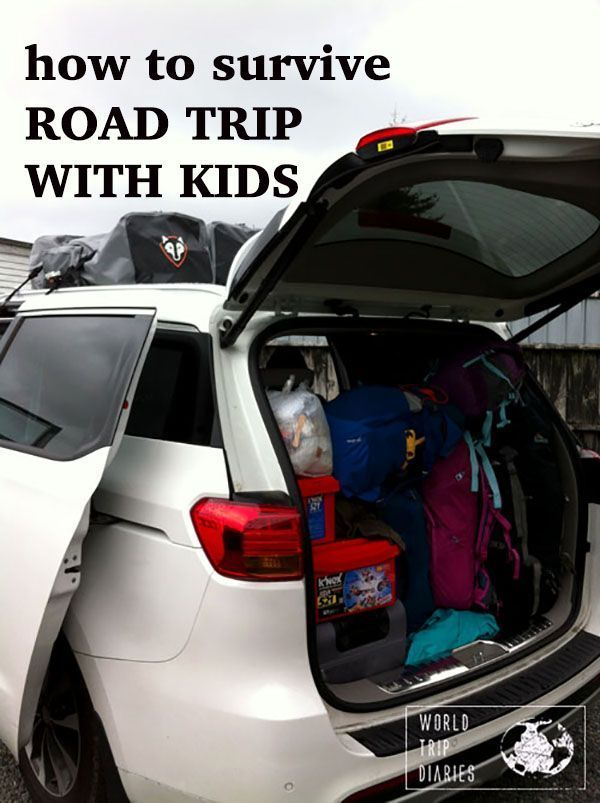 How to survive long car trips with kids, World Trip Diaries