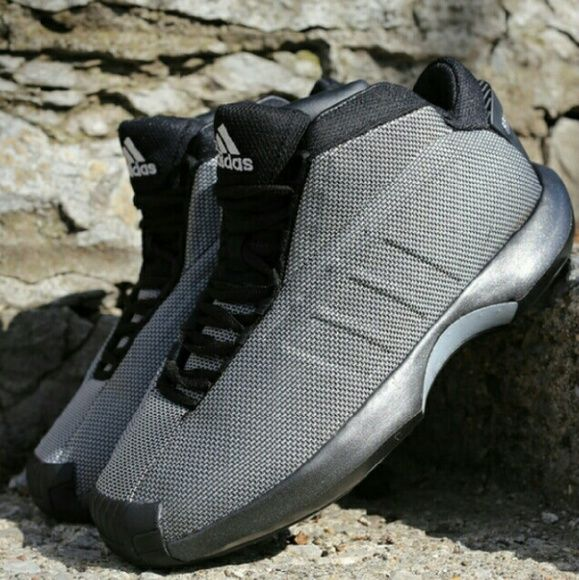 55d047f191b5 Adidas Crazy 1 Black Metallica Silver Kobe Bryant   Men s 8.5   Women 10     Size - 8.5 Adidas Crazy 1