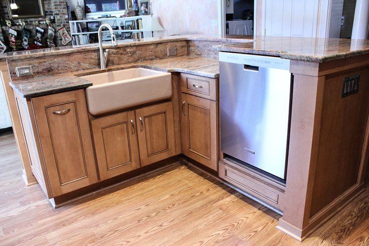 elevated dishwasher kitchen cabinet ideas for phoenix kitchen remodeling free custom kitchen remodeling designs in phoenix pinterest - Phoenix Kitchen Remodel