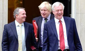 Hard Brexit ideologues threaten the UK's economic future | Nick Herbert | Opinion | The Guardian - Liam Fox, Boris Johnson and David Davis