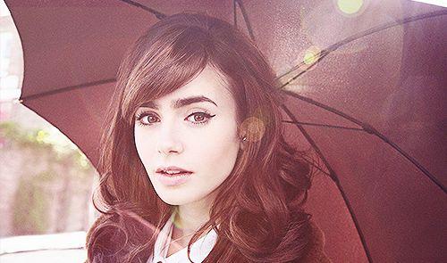 Lily Collins è il nuovo volto per la campagna 2014 di Lancome.