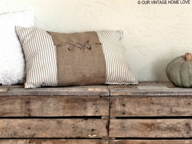 Another pallet project...I'm totally in LOVE with this!