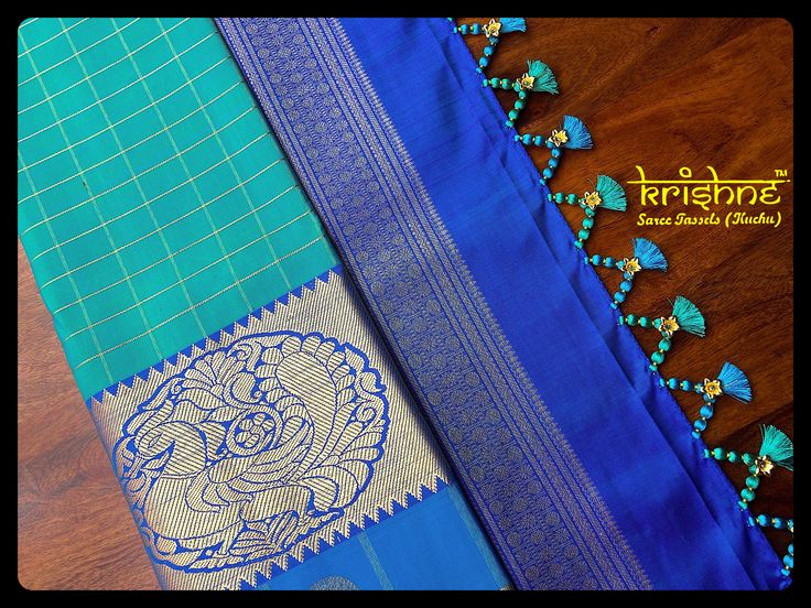 how to make beaded tassels for sarees