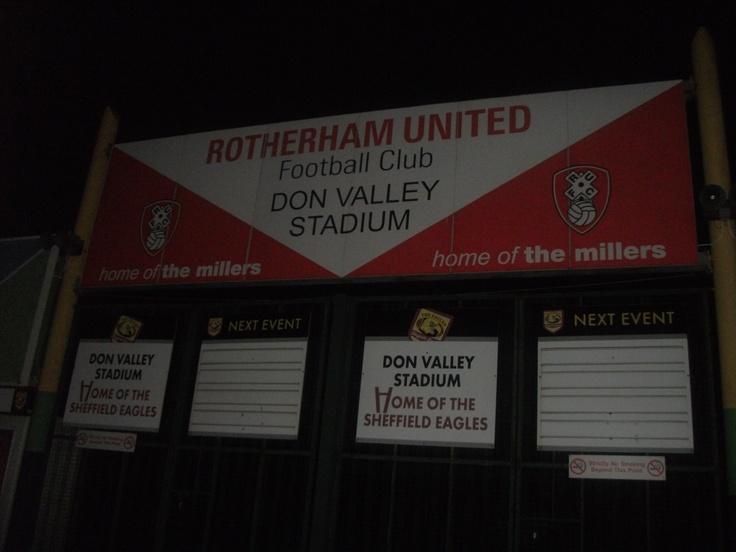 Rotherham United: The Don Valley Stadium