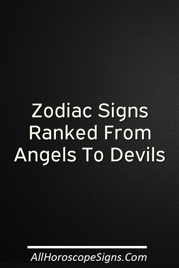Horoscope zodiac signs who are con artists ranked