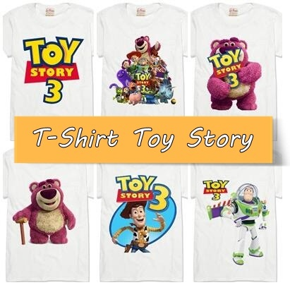 """[KODE: T-TS] T-Shirt """"Toy Story"""" 
