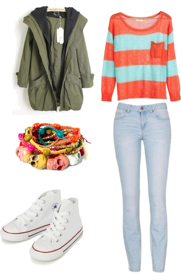 """""""school outfit ?"""" by evelin-karlsen-tjemsland ❤ liked on Polyvore"""