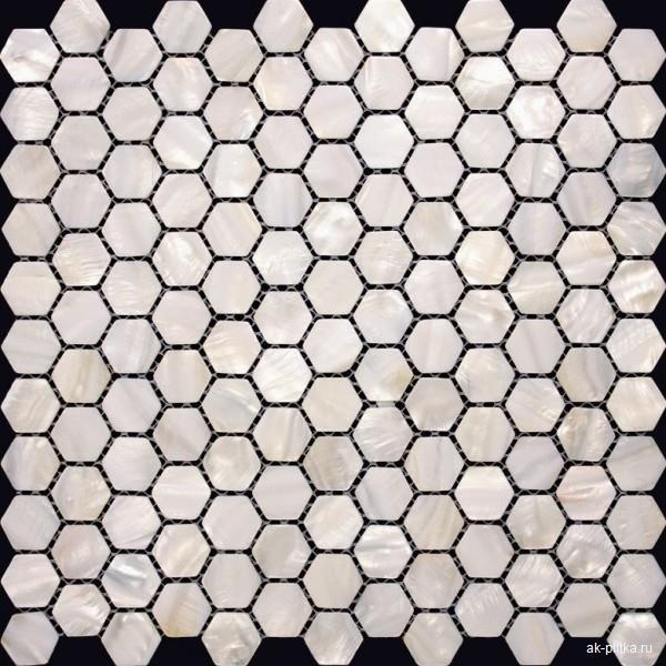 Мозаика из ракушек SMA006 30*30