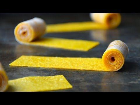Easy Homemade Fruit Roll-Ups | Healthy Snacks