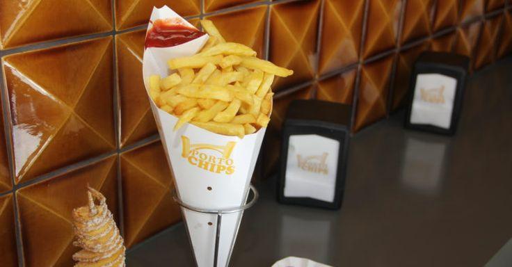 PortoChips: o novo restaurante onde só servem batatas fritas