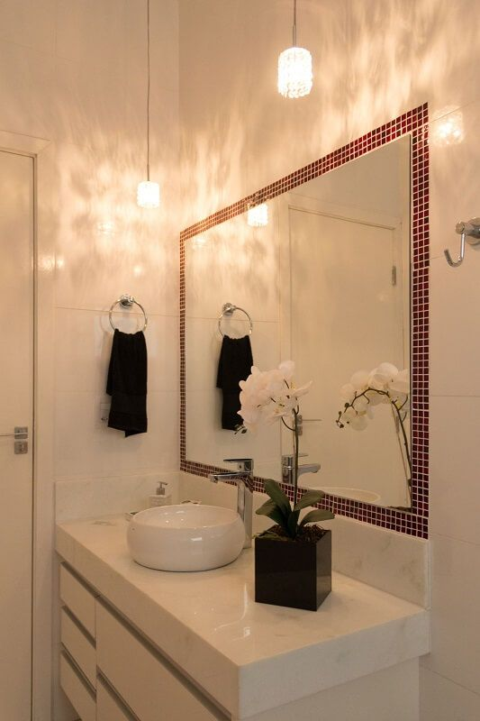 Ideias De Decoração De Banheiros Com Pastilhas : Melhores ideias de pastilhas adesivas para banheiro no