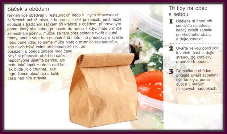 Ušetřit za oběd a ještě si pochutnat? Udělejte si sáček s obědem! DOBŘE JÍST, LÉPE SE CÍTIT