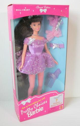 1996 Brunette Pretty Choices Barbie Doll Walmart Special ...