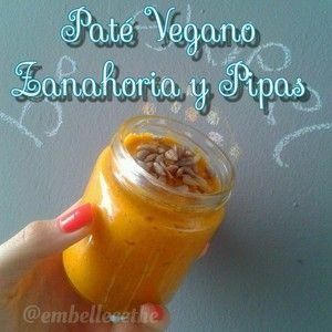 Paté de zanahorias y curry en HazteVegetariano.com