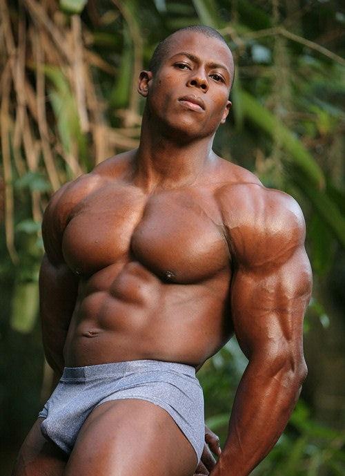 Jungle Fever Hot Muscular Black Men Hot Black Guys