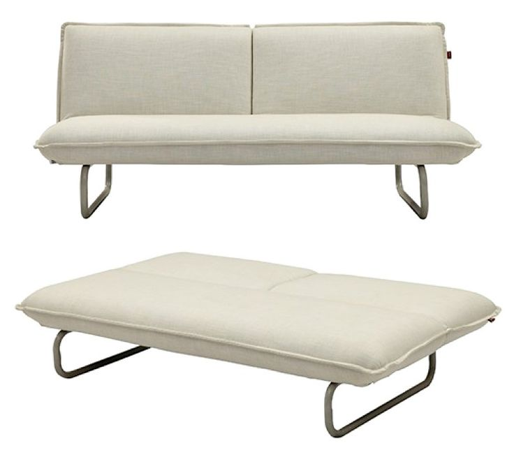 Siesta Sofa Bed in White from Milan Direct