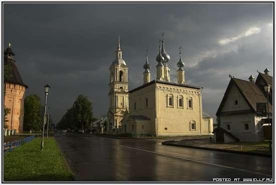 Смоленская церковь в Суздали (Владимирская область)