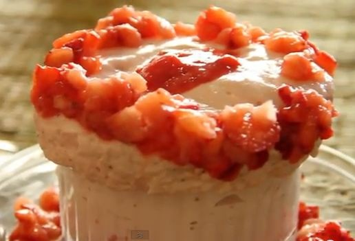 how to make strawberry souffle