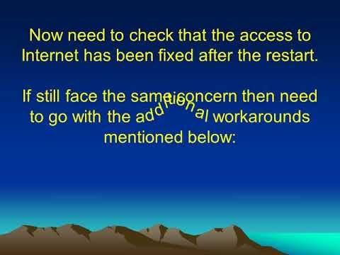 1-800-431-454 How To Fix Mcafee Blocking Internet Problem