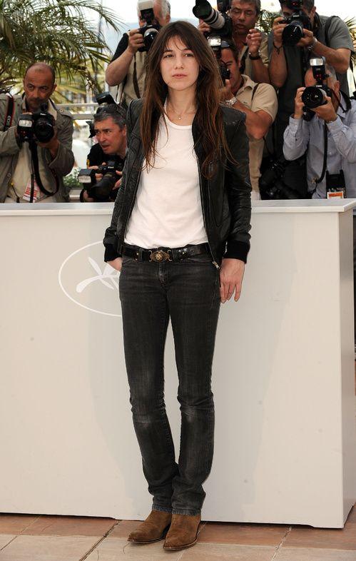 """Charlotte Gainsbourg au photocall du film """"Antichrist"""" au Festival de Cannes 2009"""