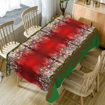 Christmas Hanging Ornaments Print Fabric Waterproof Table Cloth Fashion Clothing Site with greatest number of Latest casual style Dresses as well as other categories such as men kids swimwear at a affordable price.