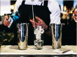 Hire a cocktail bartender in Leeds www.hireabarman.com