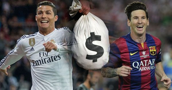 France Football magazineranked the sport's highest earners,and the amount of money in play might make your eyes water. The football rich list is collated by adding club salaries, endorsement deals,