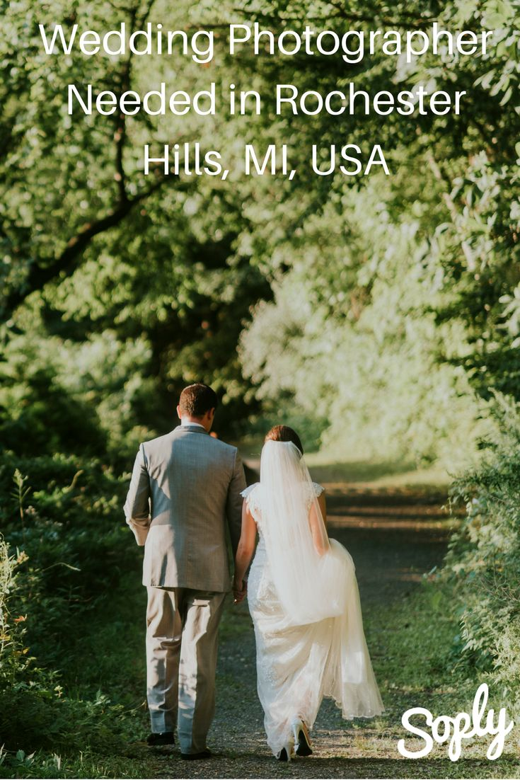 #Photographer needed for an #elopement in Rochester Hills, MI, USA on November 6th. The #couple will need you for 1-2 hours max, and would like #artistic #photos as well. See the #photographyjob and apply here: soply.com/ig/126823 #soplyhq #soplywedding #freelancelife #photographerneeded #weddingphotographer #elopementphotographer #rochesterphotographer #nyphotographer #couplesphotographer #freelancephotographer