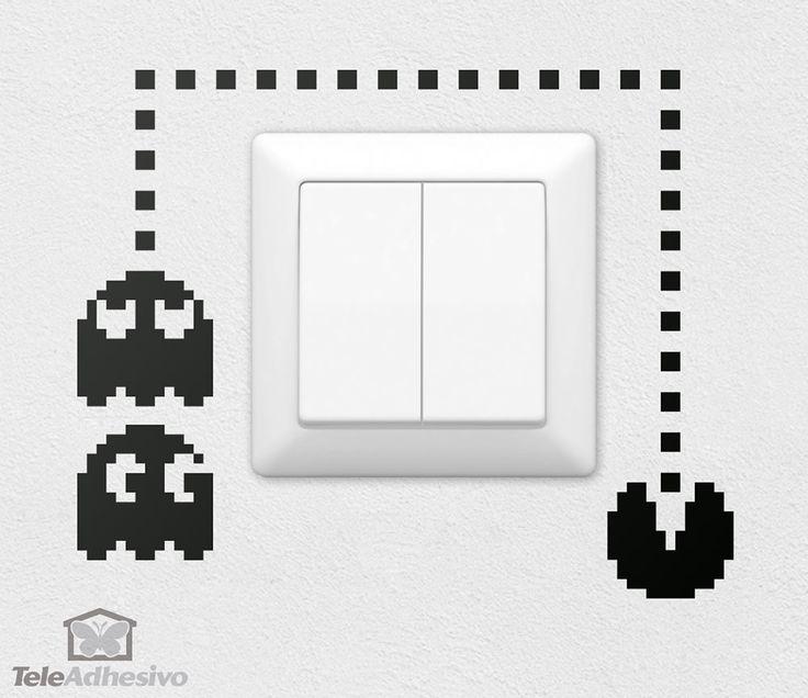Vinilo decorativo Pac-Man                                                                                                                                                                                 Más