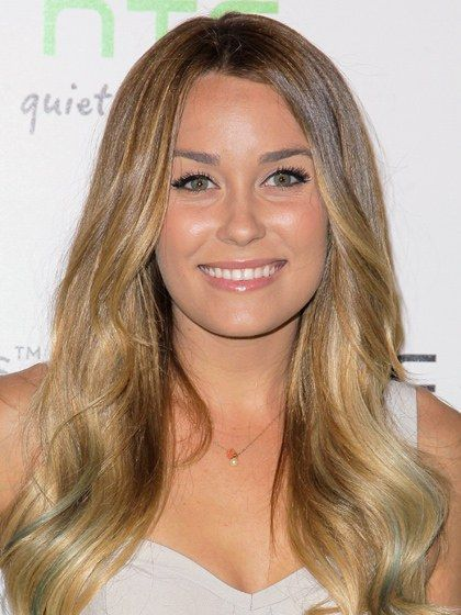 Mixed-Length Layers Lauren Conrad - angling layers out the right way—not boxing the face in. That'll make a round face look shorter. Ask your stylist for loose, face-framing layers, the first ones beginning slightly past the chin. Add waves by wrapping sections of the hair around a one-and-a-quarter-inch-barrel curling iron,  feathering it away from the face. Brush through curls with a wire-bristle brush, like Sheila Stotts's Application Brush. You can back-comb tease with the same brush for…