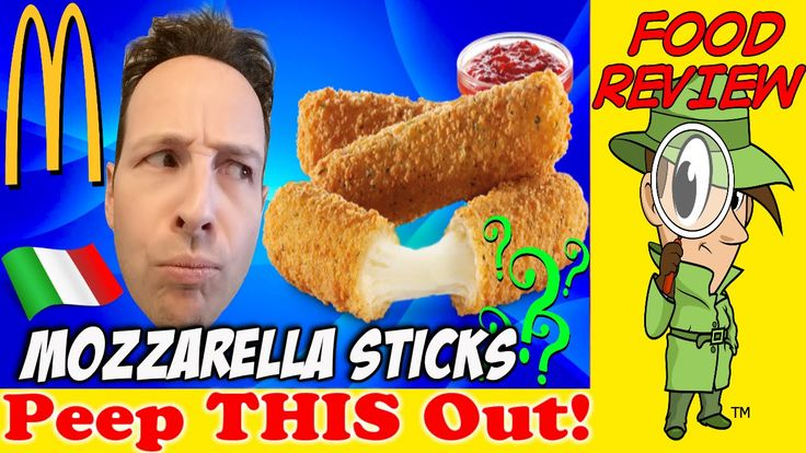 McDonald's® | Mozzarella Sticks Review! Peep THIS Out!