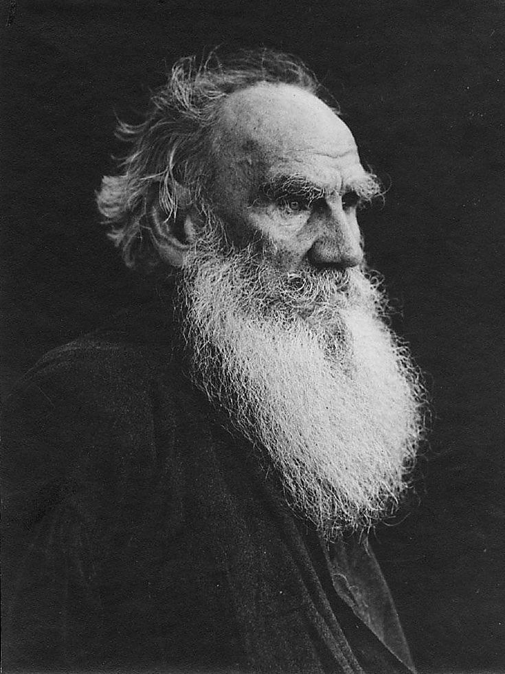 Leo Tolstoy (1828-1910) Russian novelist today regarded as one of the greatest of all time. He is best known for War and Peace and Anna Karenina.