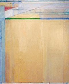 """In 1967, Diebenkorn returned to abstraction, this time in a distinctly personal, geometric style that clearly departed from his early abstract expressionist period. The ""Ocean Park"" series, begun in 1967 and developed for over 25 years, became his most famous work and resulted in more than 140 paintings."""