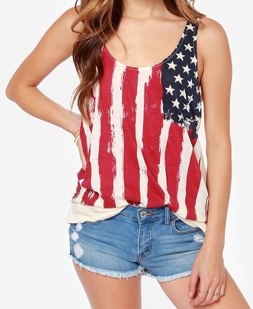 cute outfit for the 4th of July!